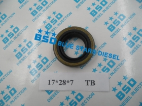 Fiat 500 - Fiat 126 - Fiat 600 - Fiat 850 Gear Shaft Oil Seal 17*28*7  (TB)