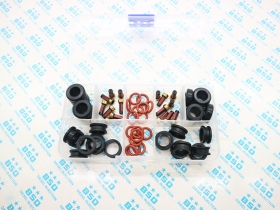 64 pieces Fuel Injector Repair Kit Rubber Seal & O-Rings & Filters for Yamaha outboard 115HP INP-771 CDH210 CDH275 (AY-RK053-2)