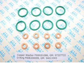 2004-2010 Chevy/GMC 6.6L Duramax LLY LBZ LMM Injector Service Kit Installation Kit Washers O-Rings/A Set