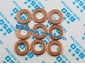 Common Rail Injector Copper Washer F 00V C17 504(7.7/7*15*2.0MM)