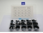 NBR Rubber O Rings Seal Assortment Set with C.S. 1.9& 2.4  &3.1 200PCS