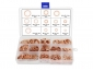 280 Pieces M5-M20 Flat Sealing Ring Solid Copper Washer Assortment Kit